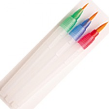 Water Brushes 3 pack assorted sizes