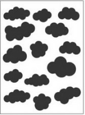 cloud embossing folder