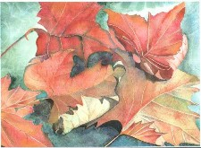 ''autumn Leaves''print