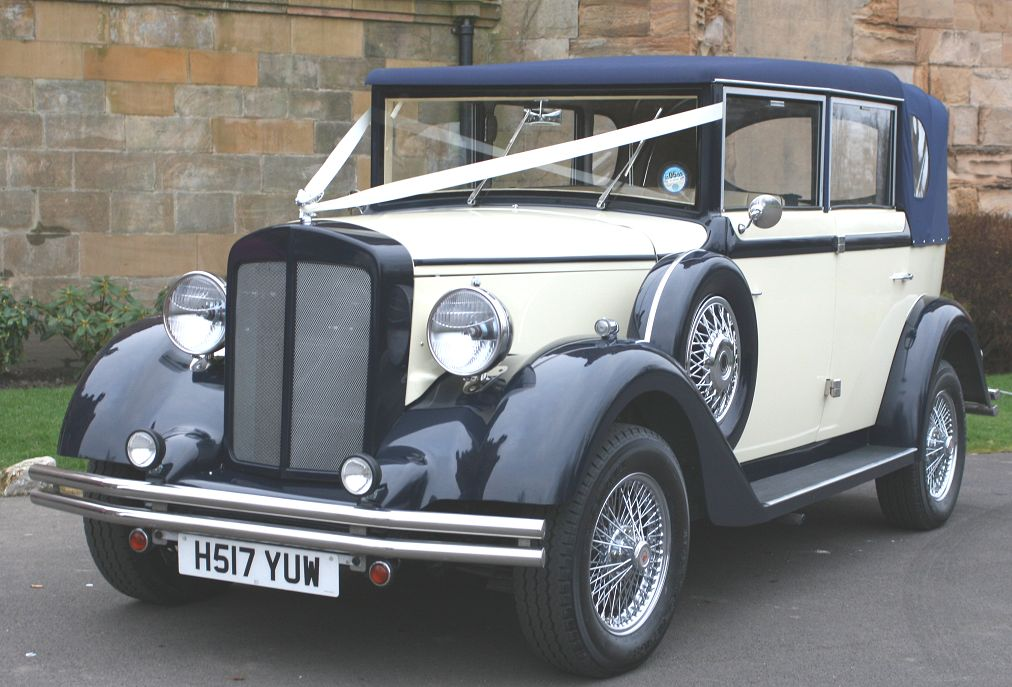 1920\'s Regents   North East Wedding Car Hire for Durham, Newcastle ...