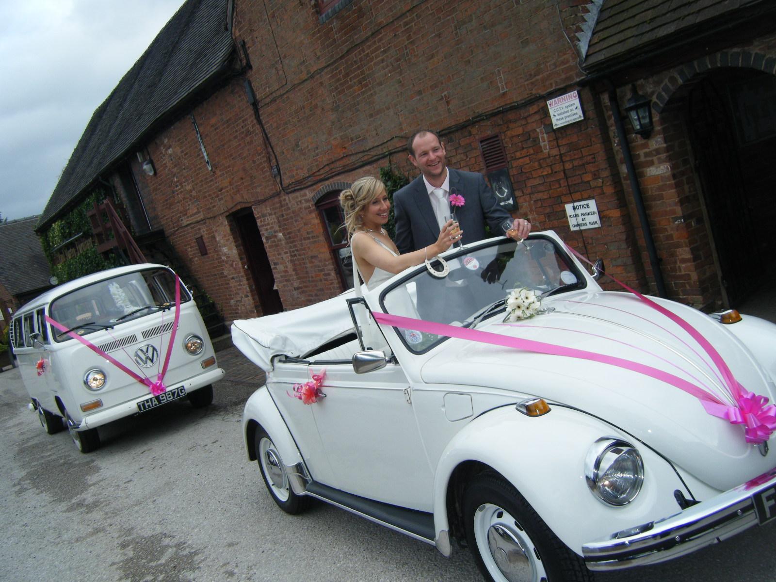 Vw Beetle Campervans North East Wedding Car Hire For Durham