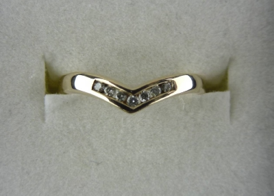 1.84.345Z Diamond Wishbone Ring
