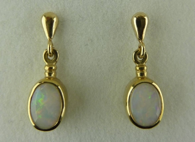 1209O Opal Earrings