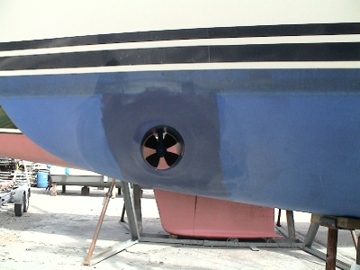 01 Moody 38 yacht supply & fit bow thruster