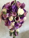Brides Teardrop Wedding Bouquet