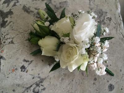 Pretty little flower corsage wedding gallery lily white florist lw007 pretty little flower corsage mightylinksfo