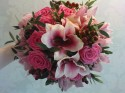 Brides Rose and Orchid Bouquet