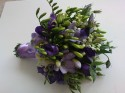 Brides bouquet of freesia