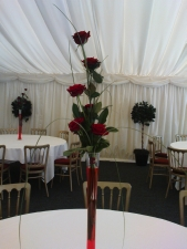 Rose centre piece/ wedding package
