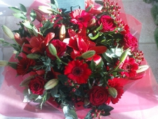 Christmas Gift Flowers Lily White Florist Sutton Coldfield
