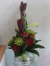 Christmas gift Aqua Lily White Florist Sutton Coldfield