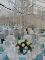 Crystal Tree Rose Table Centres