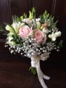 Vintage brides bouquet