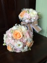 Pretty Vintage style bridesmaids Bouquets
