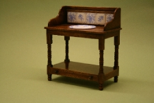 Victorian washstand with bowl