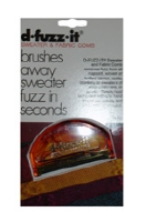 D-Fuzz-It - brushes away sweater fuzz in seconds