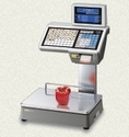 CL-5500-D Label Printing Scale
