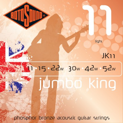JK 11 Rotosound acoustic guitar Strings JK11