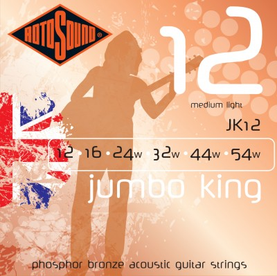 JK 12 Rotosound acoustic guitar strings JK12