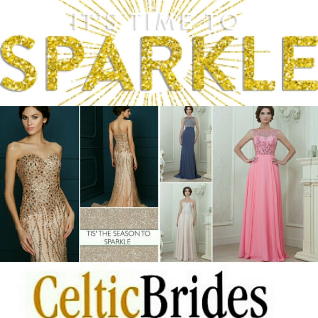 It's party season..... find your perfect party dress at Celtic Brides