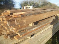 antique pine joists devon