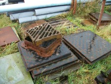 used drain grids for sale