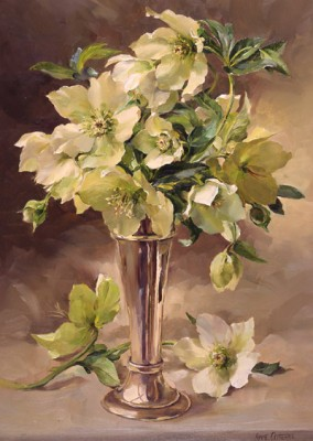 Hellebores and Silver