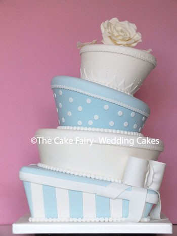 RW49 WONKY PARCELS  2 shapes of wonky cake  in pastel colours