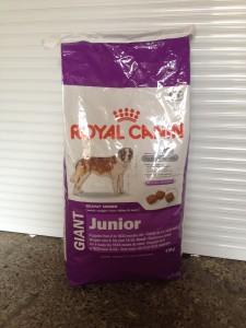 R/C Royal Canin dog food