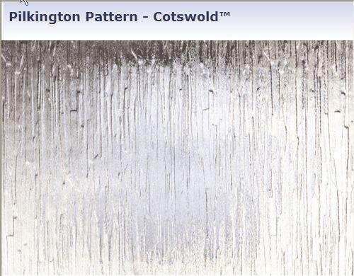 Pilkington Texture Glass Samples