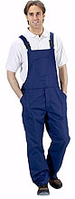 Click Poly Cotton Bib and Brace overall