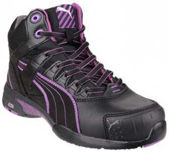 Puma Safety Boots Stepper Mid Womens 630600