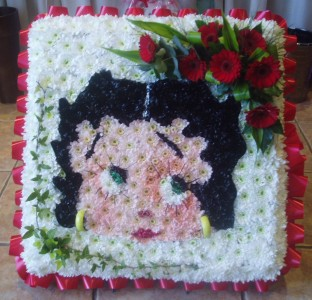 Personalised Tribute Betty Boop