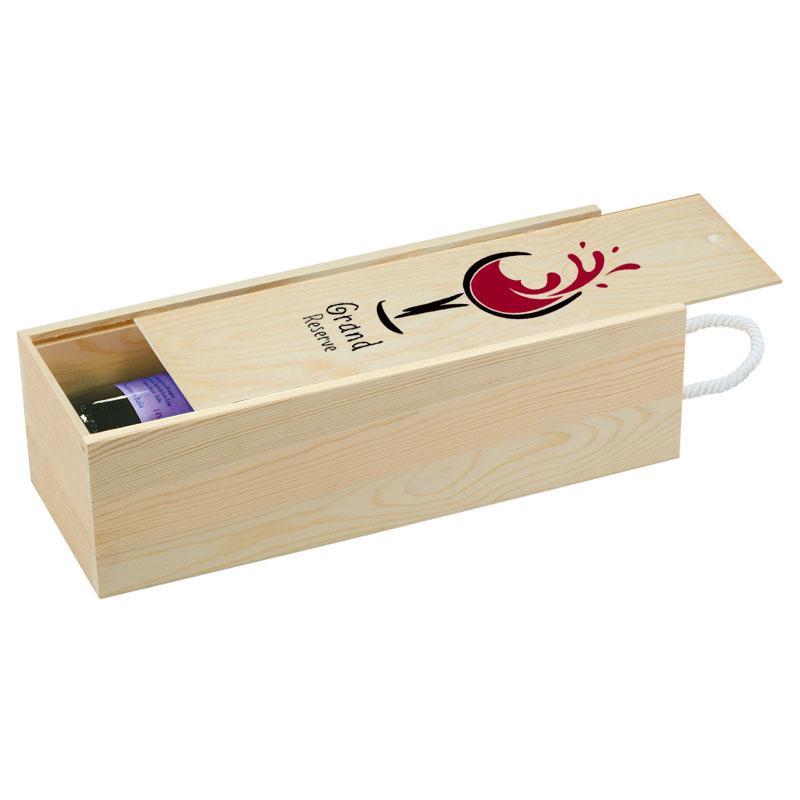 Balsa Wood Single Wine Box
