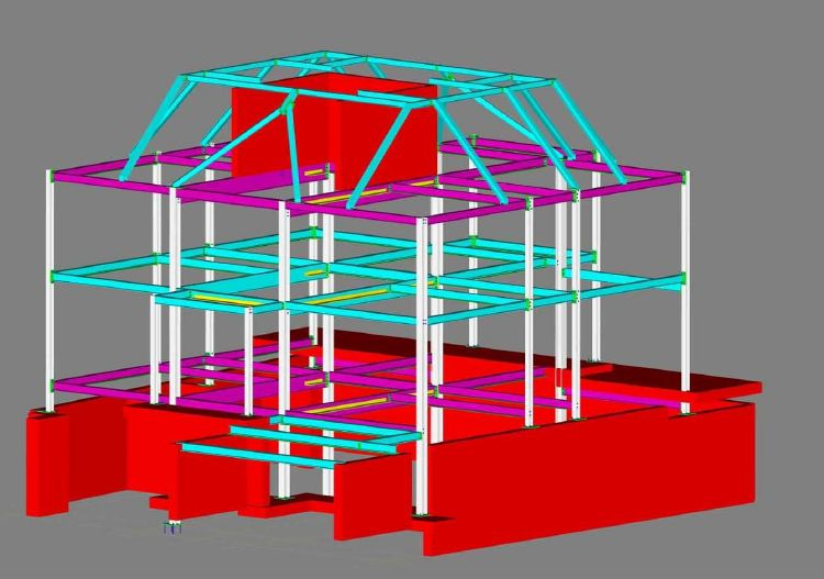 StruCad Download  3D structural steel detailing and