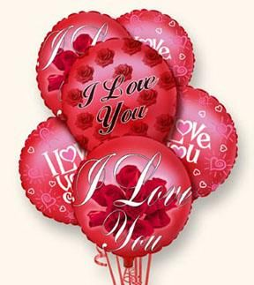 Valentine Balloons From £3.50