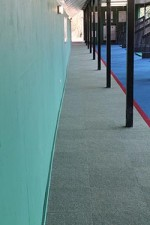 Safety Hazard Lines For Driving Range Flooring