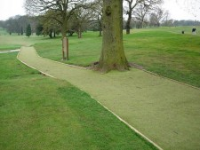Artificial golf pathway 15mm pile