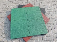 Rubber Tiles for golf pathways