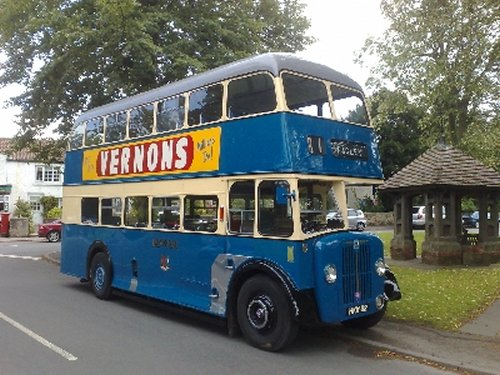 EX Bradford Regent 111 double deck bus