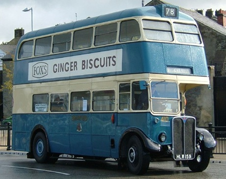 ex London RT Double deck bus