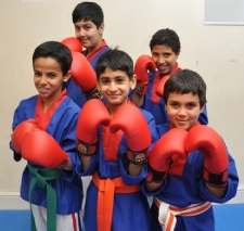 Kick boxing kids