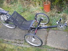 Trice recumbent, recently overhauled. Private sale to help build expedition bike for fund raising ride in Africa. ride