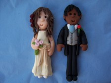 White Bride & Ethnic Groom