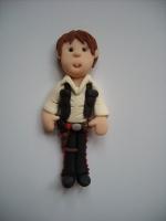Star Wars Han Solo Topper Flat Back