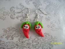 Red Pepper earrings