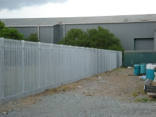 New Security Fencing Installation