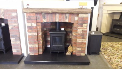 6 peice brick chambers with non-combustible inglebeam