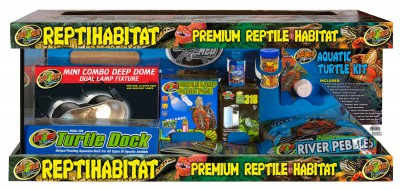 TurtleT1 ZooMed ReptiHabitat Aquatic Turtle Kit