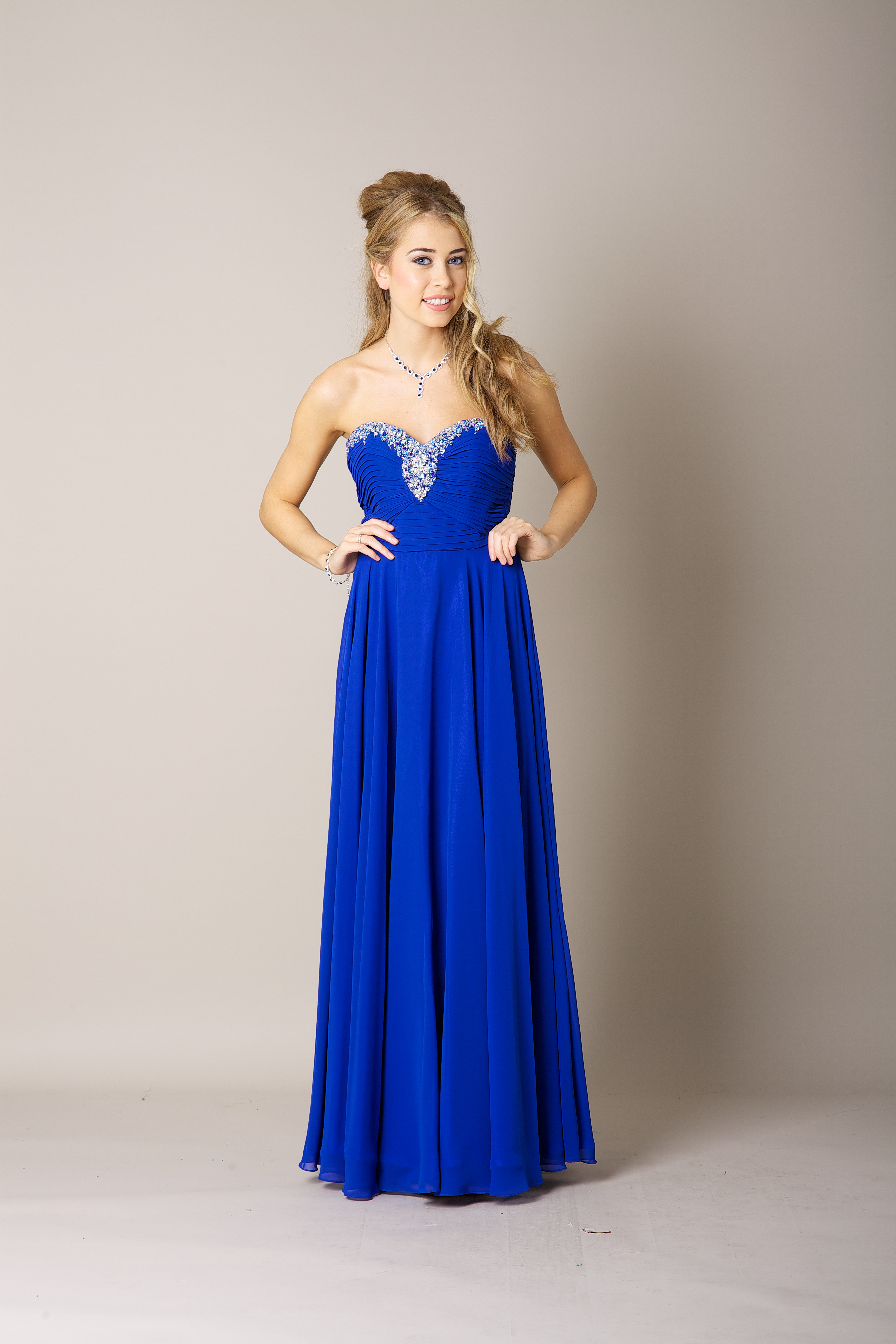 Royal blue cheap dresses uk